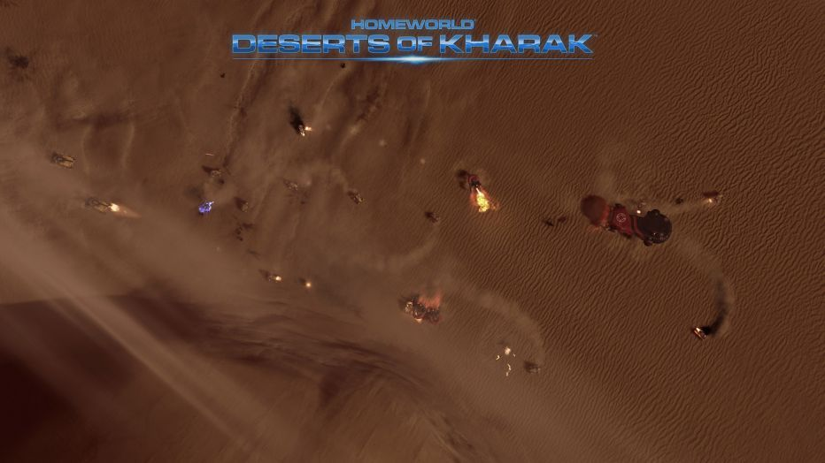 Gearbox анонсировала Homeworld: Deserts of Kharak
