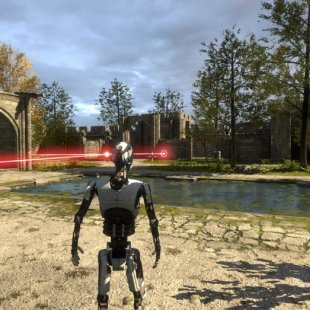 The Talos Principle заперла пиратов в лифте