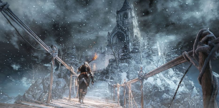 DSIII: Ashes of Ariandel первые 15 мин
