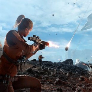 Для Star Wars: Battlefront анонсировали режим Drop Zone