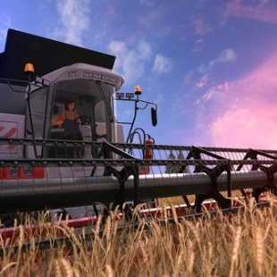 Farming Simulator 17 выехал на ниву Steam