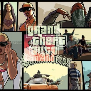 Grand Theft Auto: San Andreas для паст-гена