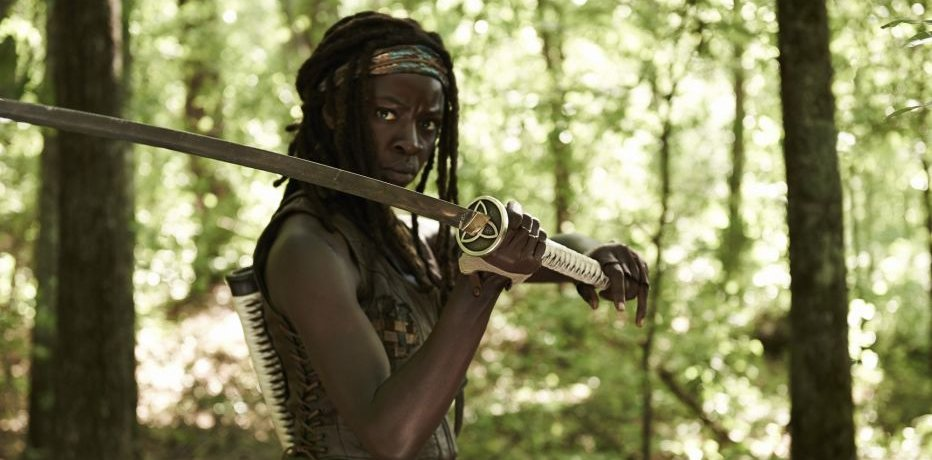The Walking Dead: Michonne - первые минуты